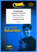 フリューゲルホルンソロ楽譜 チェロ協奏曲(Concerto) 作曲/ドヴォルザーク 校訂(編曲)/S.ナカリャコフ