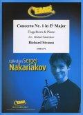 フリューゲルホルンソロ楽譜 ホルン協奏曲 第1番 作品11(Concerto Nr. 1 in Eb Major) 作曲/シュトラウス(リヒャルト) 校訂(編曲)/S.ナカリャコフ