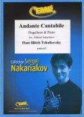 フリューゲルホルンソロ楽譜 アンダンテ・タンタービレ 作品11(Andante Cantabile) 作曲/チャイコフスキー 校訂(編曲)/S.ナカリャコフ