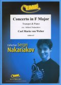 トランペットソロ楽譜 バスーン協奏曲 ヘ長調 作品75 (Concerto in F Major) 作曲/ウェーバー 校訂(編曲)/S.ナカリャコフ