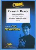 フリューゲルホルンソロ楽譜 コンサート・ロンド(Concerto Rondo) 作曲/モーツァルト 校訂(編曲)/S.ナカリャコフ