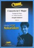 トランペットソロ楽譜 ヴィオラ協奏曲 ハ長調(Concerto in C Major) 作曲/シューベルト(ヨゼフ) 校訂(編曲)/S.ナカリャコフ