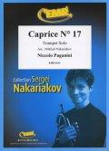 トランペットソロ楽譜 奇想曲 第17番(Caprice N° 17) 作曲/パガニーニ 校訂(編曲)/S.ナカリャコフ