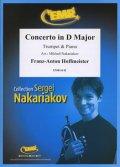 トランペットソロ楽譜 ヴィオラ協奏曲 ニ長調(Concerto in D Major) 作曲/ホフマイスター 校訂(編曲)/S.ナカリャコフ