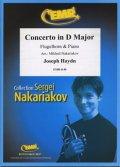 フリューゲルホルンソロ楽譜 チェロ協奏曲 第2番 ニ長調(Concerto in D Major) 作曲/ハイドン 校訂(編曲)/S.ナカリャコフ