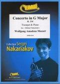 トランペットソロ楽譜 ヴァイオリン協奏曲 第3番 K.216(Concerto in G Major) 作曲/モーツアルト 校訂(編曲)/S.ナカリャコフ