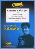 トランペットソロ楽譜 バスーン協奏曲 K.191(Concerto in Bb Major) 作曲/モーツアルト 校訂(編曲)/S.ナカリャコフ