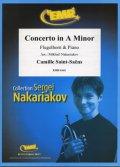 フリューゲルホルンソロ楽譜 チェロ協奏曲 第1番 作品33(Concerto in A Minor) 作曲/サン・サーンス 校訂(編曲)/S.ナカリャコフ