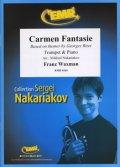 トランペットソロ楽譜 カルメン幻想曲(Carmen Fantasie) 作曲/ワックスマン 校訂(編曲)/S.ナカリャコフ