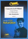 トランペットソロ楽譜 ヴァイオリン協奏曲 ニ短調(Concerto in D Minor) 作曲/メンデルスゾーン 校訂(編曲)/S.ナカリャコフ