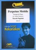 トランペットソロ楽譜 常動曲(Perpetuo Mobile) 作曲/パガニーニ 校訂(編曲)/S.ナカリャコフ