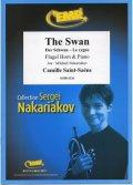 フリューゲルホルンソロ楽譜 白鳥(Der Schwan) 作曲/サン・サーンス 校訂(編曲)/S.ナカリャコフ
