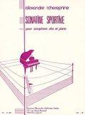 アルトサックス&ピアノ楽譜 ソナチネ・スポルティヴ(Sonatine Sportive) 作曲/チェレプニン(Tcherepenine,A.)