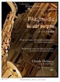 アルトサックスソロ&ピアノ楽譜 ムーア風狂詩曲 作曲/C.ドビュッシー