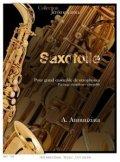 サックス16重奏楽譜 サクソフォリ 作曲/A.アンヌツィアート