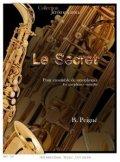サックス11重奏楽譜 秘密 作曲/B.ペニェ