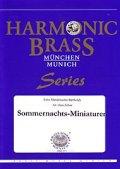 金管5重奏楽譜 Summer Night's Miniatures 作曲/メンデルスゾーン 編曲/Hans Zellner