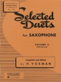 サックス2重奏楽譜 二重奏曲第2巻(Selected Duets Vol.2) 作曲/- 編曲(監修)/V`oxman