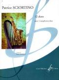 サックス2重奏楽譜 12の二重奏曲(12 Duos) 作曲/ショルティーノ(Sciortino,P.) 編曲(監修)/-