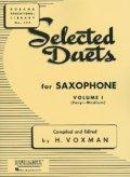 サックス2重奏楽譜 二重奏曲第1巻(Selected Duets Vol.1) 作曲/- 編曲(監修)/V`oxman