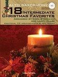 アルトサックス&ピアノ楽譜 18の中世のクリスマス曲集【18 Intermediate Christmas Favorites】 編曲(監修)/Strommen/Clark