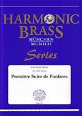 金管5重奏楽譜 Premiere Suite de Fanfares 作曲/Jean-Josephe Mouret 編曲/Hans Zellner