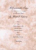 木管6重奏楽譜 木管六重奏のためのフランス古典舞曲 作曲/ハインリッヒ・シェラー 【2013年3月取扱開始】