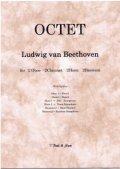 木管8重奏楽譜 木管混成八重奏のためのオクテットOP103 作曲/L.V.ベートーヴェン【2013年3月取扱開始】