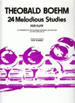 画像1: フルート教材 24の旋律的練習曲 作品37(24  Melodious Op37) 作曲/ベーム.テオバルト(Boehm, Theobald)