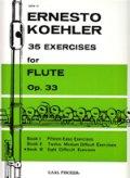 フルート教材 35の練習課題 作品33 第3巻(35 Exercises Op.33:III) 作曲/ケーラー.エルネスト(Kohler, Ernesto)