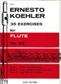フルート教材 35の練習課題 作品33 第2巻(35 Exercises Op.33:II) 作曲/ケーラー.エルネスト(Kohler, Ernesto) 定番教本!!