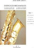 サックス教材  メカニズムの練習課題 第1巻(Exercices Mecaniques :I) 作曲/ロンデックス(Londeix,Jean-Marie.)