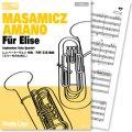 ユーフォニアム・テューバ四重奏楽譜 エリーゼのために(L.v.ベートーヴェン 作曲/天野正道 編曲) 【2013年7月取扱開始】