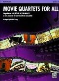 Movie Trios for All(4重奏楽譜) B-Flat Clarinet, Bass Clarinet(フルスコアのみ)