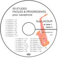 CD-R ラクール50の練習曲 | Guy LACOUR 50 ETUDE テナーサックス版 【2014年7月取扱開始】