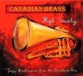 CD ハイ・ソサエティ:ディキシーランド時代からのジャズ・マスターピース<カナディアン・ブラス>【2014年11月取扱開始】