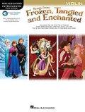 バイオリンソロ楽譜 「アナと雪の女王・塔の上のラプンツェル・魔法にかけられて」より(Violin,プレイ・アロング音源ダウンロード版)  【2014年11月取扱開始】
