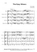 木管5重奏楽譜 イージー・ウィナーズ (ジョプリン/松山千紘 ) 【2015年9月取扱開始】