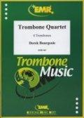 トロンボーン4重奏楽譜 トロンボーン四重奏曲 Op. 117 作曲:デリク・ブルジョワ  ( Derek Bourgeois )【2016年8月入荷!】