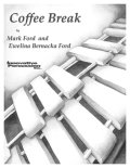 打楽器5重奏楽譜 コーヒーブレイク(Coffee Break)作曲/Mark Ford & Ewelina Bernacka Ford   【2016年8月取扱い開始】