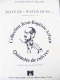 金管5重奏楽譜【セール品】 水上の音楽 組曲  / 作曲:ヘンデル 編曲:カーン