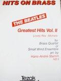 金管4重奏楽譜【セール品】 ビートルズ グレイテストヒットVOL.2  / 編曲:HANS-ANDRE  STAMM