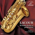 CD ラクール:50のやさしく段階的な練習曲( LACOUR 50 études faciles et progressives)監修/解説/演奏:雲井雅人【2017年1月取扱開始】