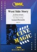 金管5重奏楽譜 ウエストサイドストーリー(West Side Story) 作曲レナード・バーンスタイン 編曲Dennis Armitage 【2018年9月17日入荷】