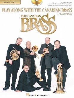 画像1: 【お取り寄せ対応商品】トランペットソロ楽譜 Play Along with The Canadian Brass 17 Easy Pieces  1st Trumpet 【2020年2月取扱開始】