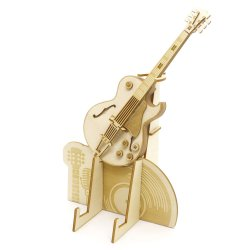 画像1: 【お取り寄せ対応商品】KIGUMI) 木製パズル ギター マルチスタンド 【2020年1月取扱開始】