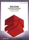 クラリネット8(9)重奏楽譜  Rikudim/リクディム  作曲:Jan van der Roost/ヤン・ヴァン=デル=ロースト 【2020年8月取扱開始】