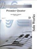 サックス4重奏楽譜 Premier Quator/サクソフォーン4重奏曲  作曲:Jean-Baptiste Singeleer/ジャン=パティスト・サンジュレー  【2020年8月取扱開始】