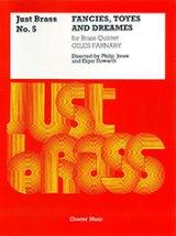 金管5重奏楽譜 Fancies, Toyes and Dreames for Brass Quintet/空想・おもちゃ・夢 作曲 Giles Farnaby/ジャイルズ・ファーナビー 【2020年8月取扱開始】