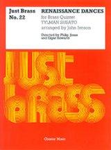 金管5重奏楽譜 Renaissance Dances/ルネッサンス舞曲集  作曲 Tylman Susato/ティールマン・スザート   【2020年8月取扱開始】